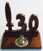 30 Commando RM Hardwood Desk Ornament